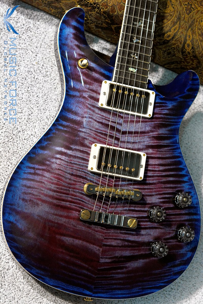 PRS Wood Library Mccarty 594 Limited-Violet Blue Burst w/Flame Maple 10 Top, Ebony FB & Hybrid HW(2018년산/신품)
