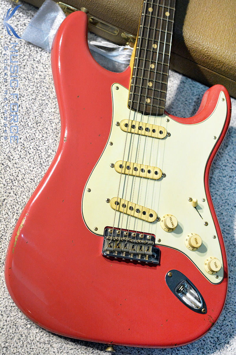 Fender MBS(Masterbuilt) 1961 Strat Relic-Fiesta Red by Jason Smith(2017년산/신품)