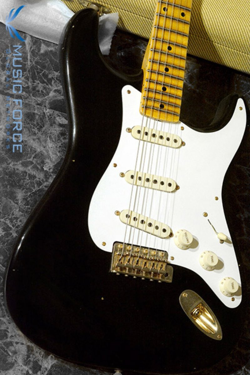 [이월상품창고대방출!!!] Fender Custom Shop Limited Edition 20th Anniversary Relic Strat-Aged Black(2015년산/신품)