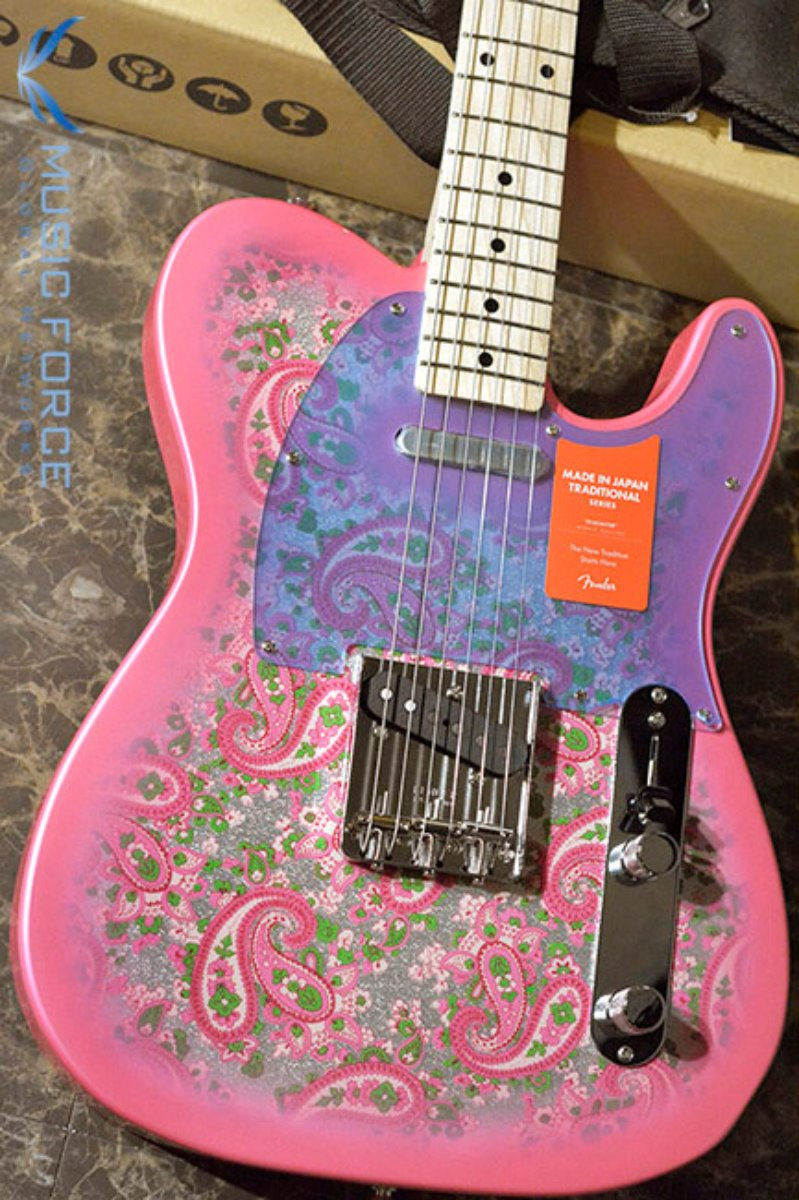 Fender Japan Traditional 69 Telecaster-Pink Paisley w/Maple FB (2017년산/신품) 팬더 재팬 트레디셔널 69 텔레캐스터