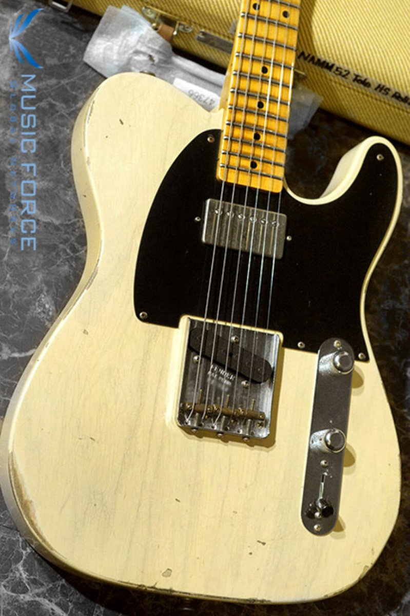 Fender Custom Shop NAMM Limited Edition 1952 Tele Relic-Aged Vintage Blonde w/Duncan Antiquity Humbucker(2018년산/신품)
