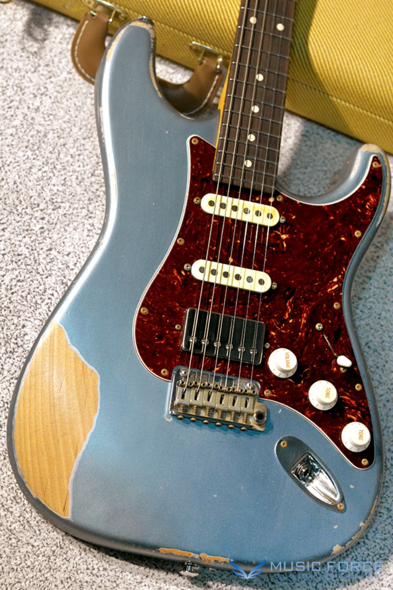 Suhr Classic Antique(Custom Model) SSH-Ice Blue Metallic w/Tortoise PG(2017년산/신품)