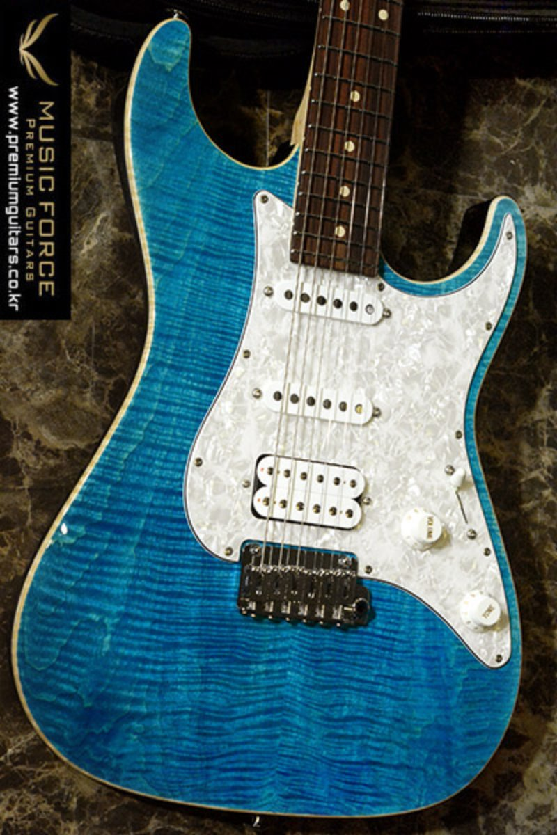 [2018 Final Sale(~12/31까지)!!!] Suhr Standard Pro SSH FMT-Bahama Blue w/Rosewood FB #2(2015년산/신품)
