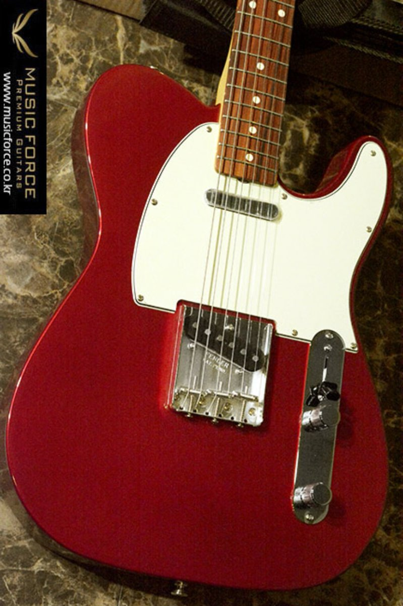 Fender Mexico Classic Series 60's Telecaster-Candy Apple Red w/Pau Ferro FB(2017년산/신품) 펜더 멕시코 클래식 60s 텔레캐스터