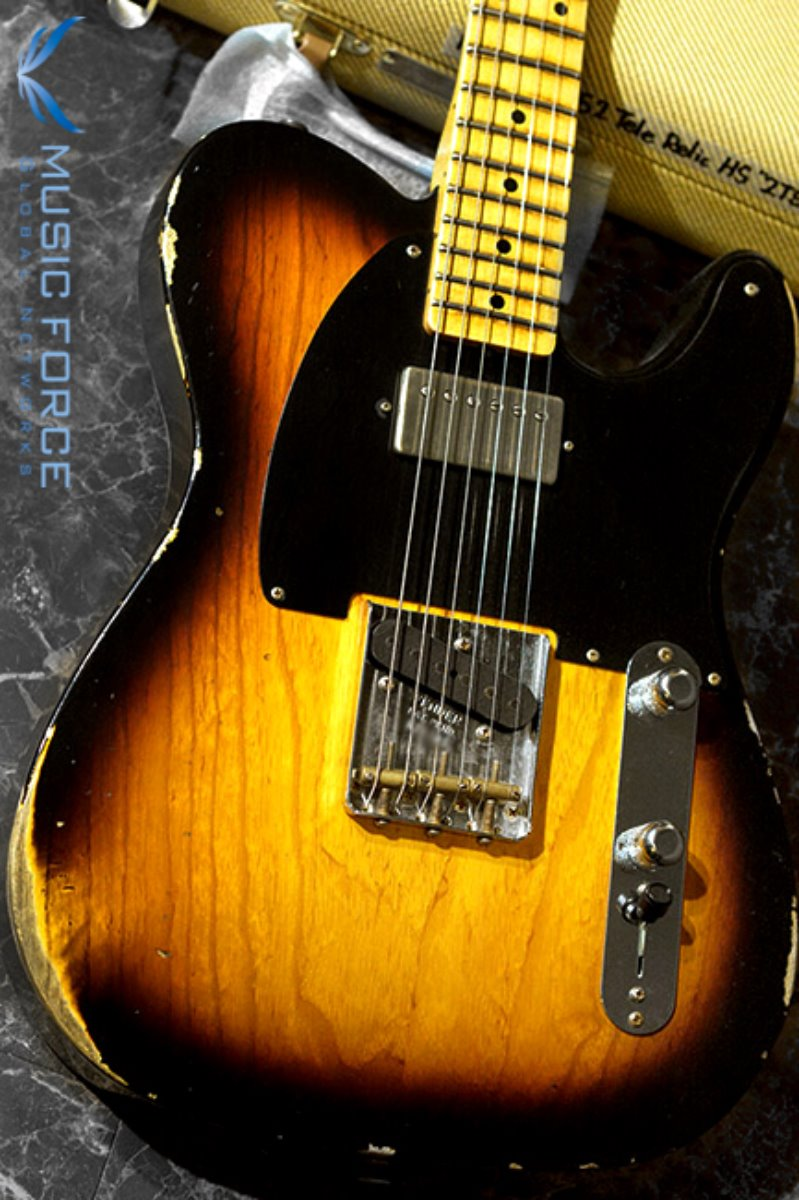 Fender Custom Shop Limited Edition 1952 Tele Relic-2TSB w/Duncan Antiquity Humbucker(2017년산/신품)