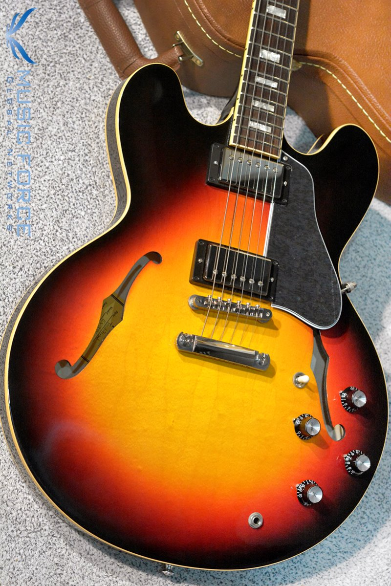 [특별세일] Gibson Memphis 2018 Model ES-335 Traditional-Antique Sunset Burst(신품)
