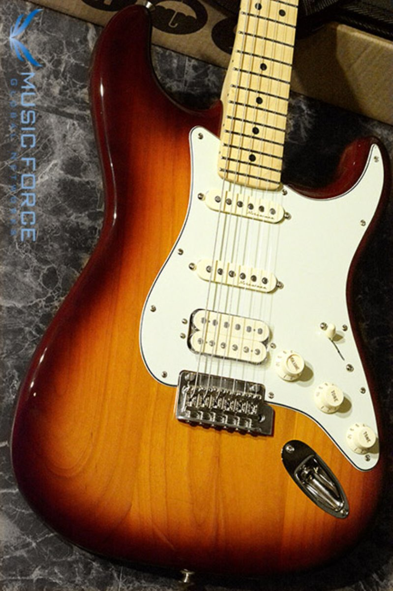 Fender Mexico Deluxe Stratocaster SSH-Tobacco Sunburst w/Maple FB (2017년산/신품) 펜더 멕시코 디럭스 스트라토캐스터