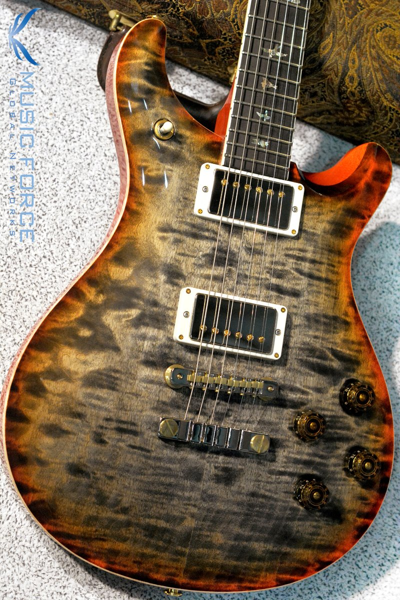 PRS Wood Library Mccarty 594 Limited-Burnt Maple Leaf w/Quilt Maple 10 Top, Ebony FB & Hybrid HW(2018년산/신품)