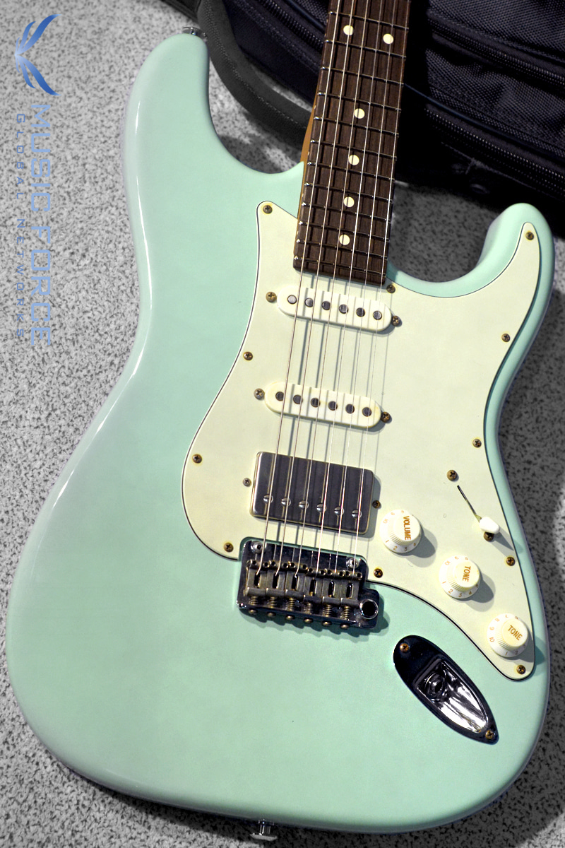 Suhr Classic S Antique Roasted SSH Limited Edition-Surf Green w/Rosewood FB & SSCII System(2018년산/신품)