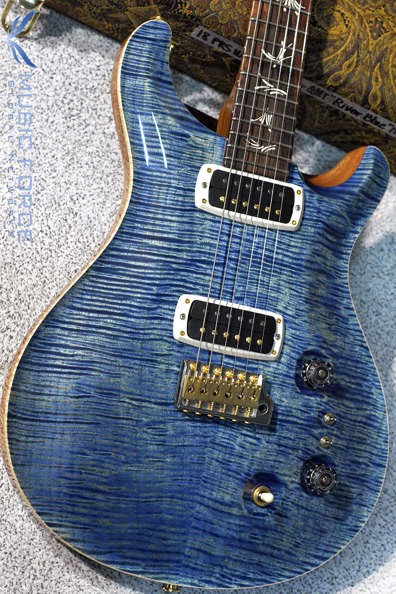 PRS Wood Library Paul's Guitar Limited-River Blue w/10 Top Flame, Honduran Rosewood FB & Hybrid HW(2018년산/신품)