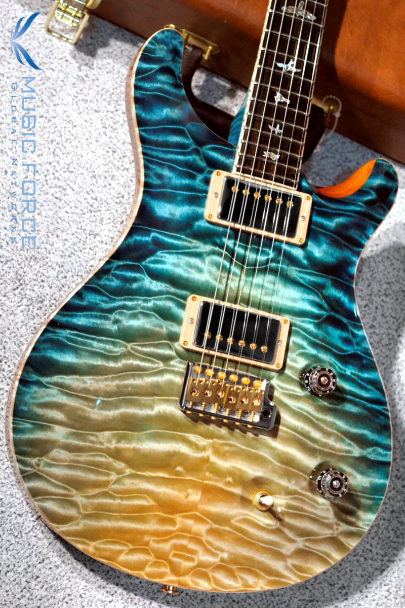 PRS Private Stock Modern Eagle QMT-Iceberg Dragon's Breath w/Stained Figured Maple Neck & African Blackwood FB(2017년산/신품)