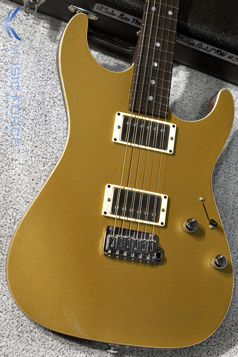 Suhr Pete Thorn Signature Standard HH-Vintage Gold(2018년산/신품)
