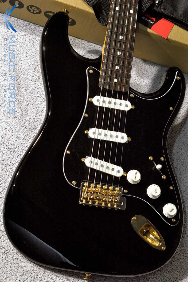 Fender Japan FSR Traditional 60s Black Out Stratocaster-Midnight w/Rosewood FB (2018년산/신품)