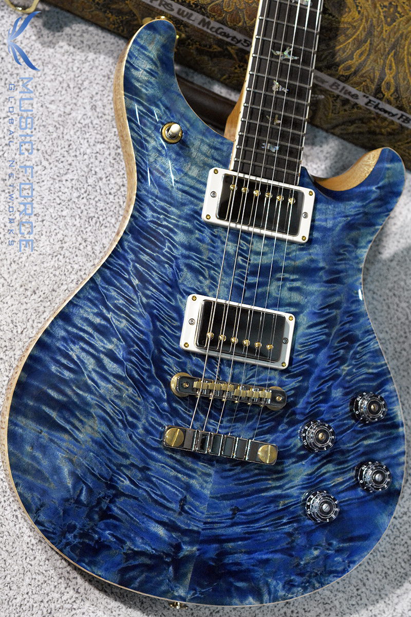 PRS Wood Library Mccarty 594 Limited-River Blue Smokeburst w/Quilt Maple 10 Top, Ebony FB & Hybrid HW(2018년산/신품)