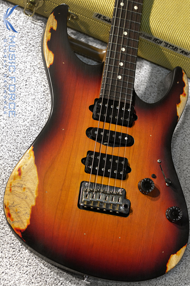 Suhr Modern Antique(Heavy Aging) HSH-3 Tone Burst w/Roasted Maple Neck(2018년산/신품)