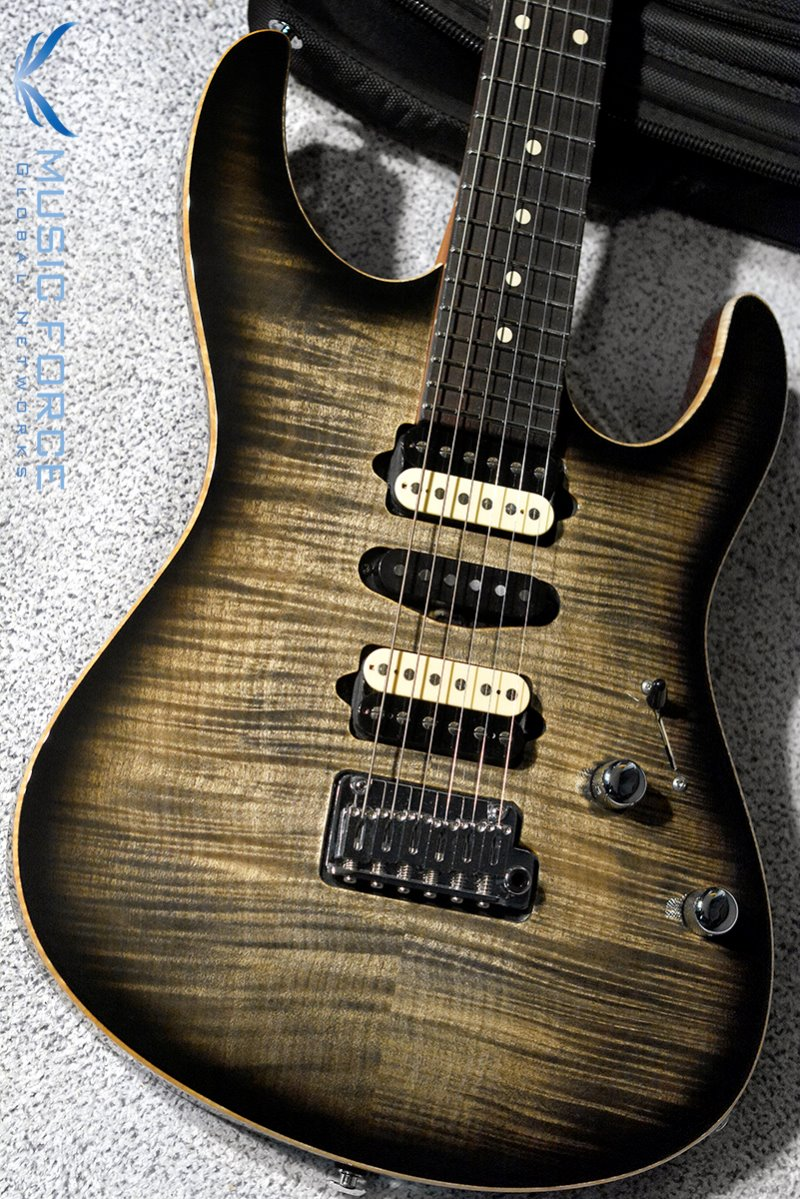 [이월상품창고대방출!!!] Suhr Dealer Select Limited Run Modern Carve Top HSH FMT-Trans Charcoal Burst(2015년산/신품)