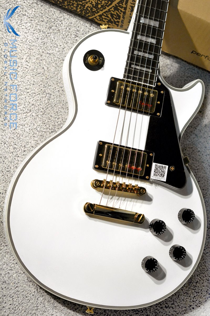Epiphone Les Paul Limited Edition Custom Lite-Alpine White (2018년산/신품)