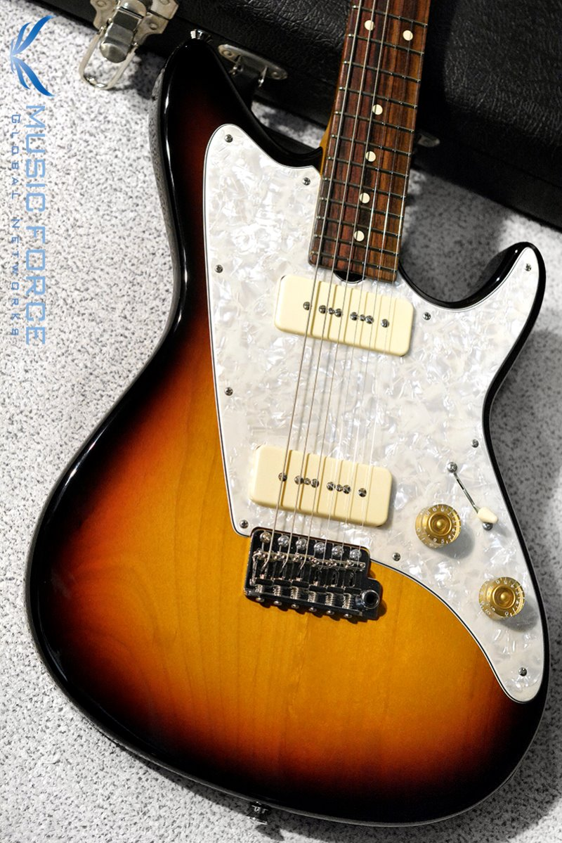 [이월상품창고대방출!!!] Don Grosh Electra Jet Custom P-90 59 Burst w/Aged White Pearl PG(2014년산/신품)