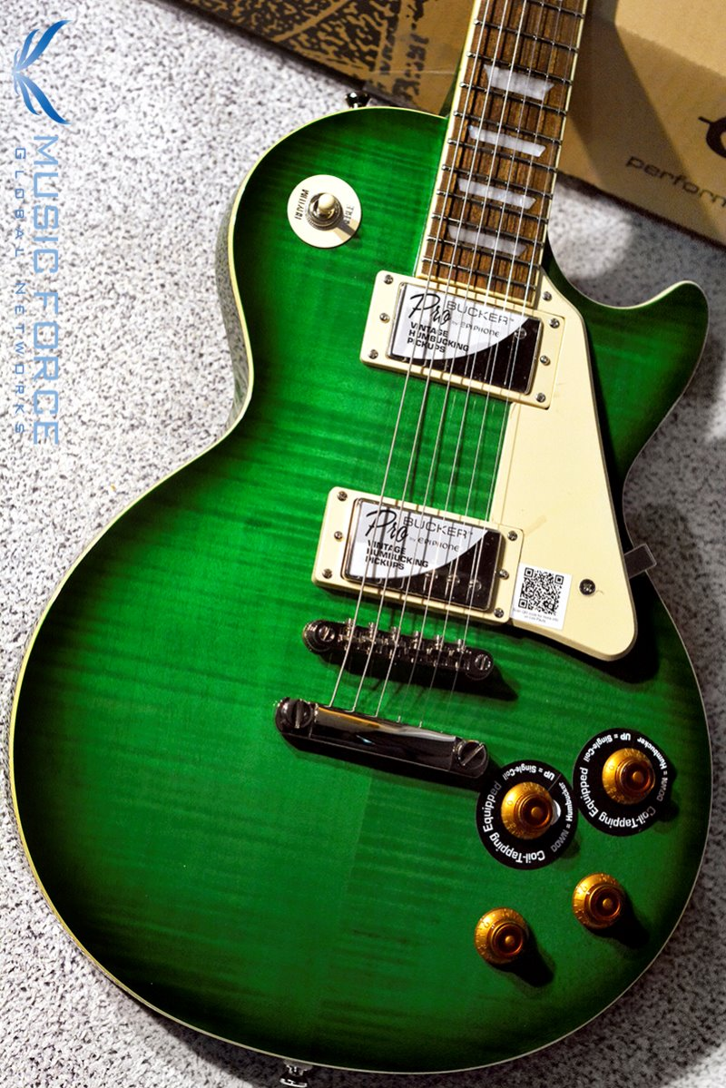 Epiphone Les Paul Standard Plus Top Pro-Green Burst (2018년산/신품)