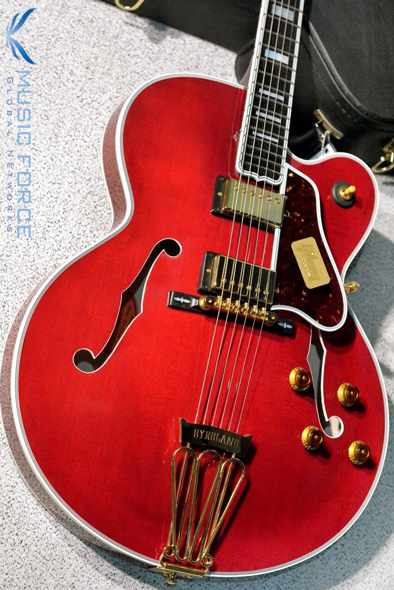 [Used] Gibson Custom(Crimson) Archtop Byrdland-Wine Red(2014년산/Mint급중고)
