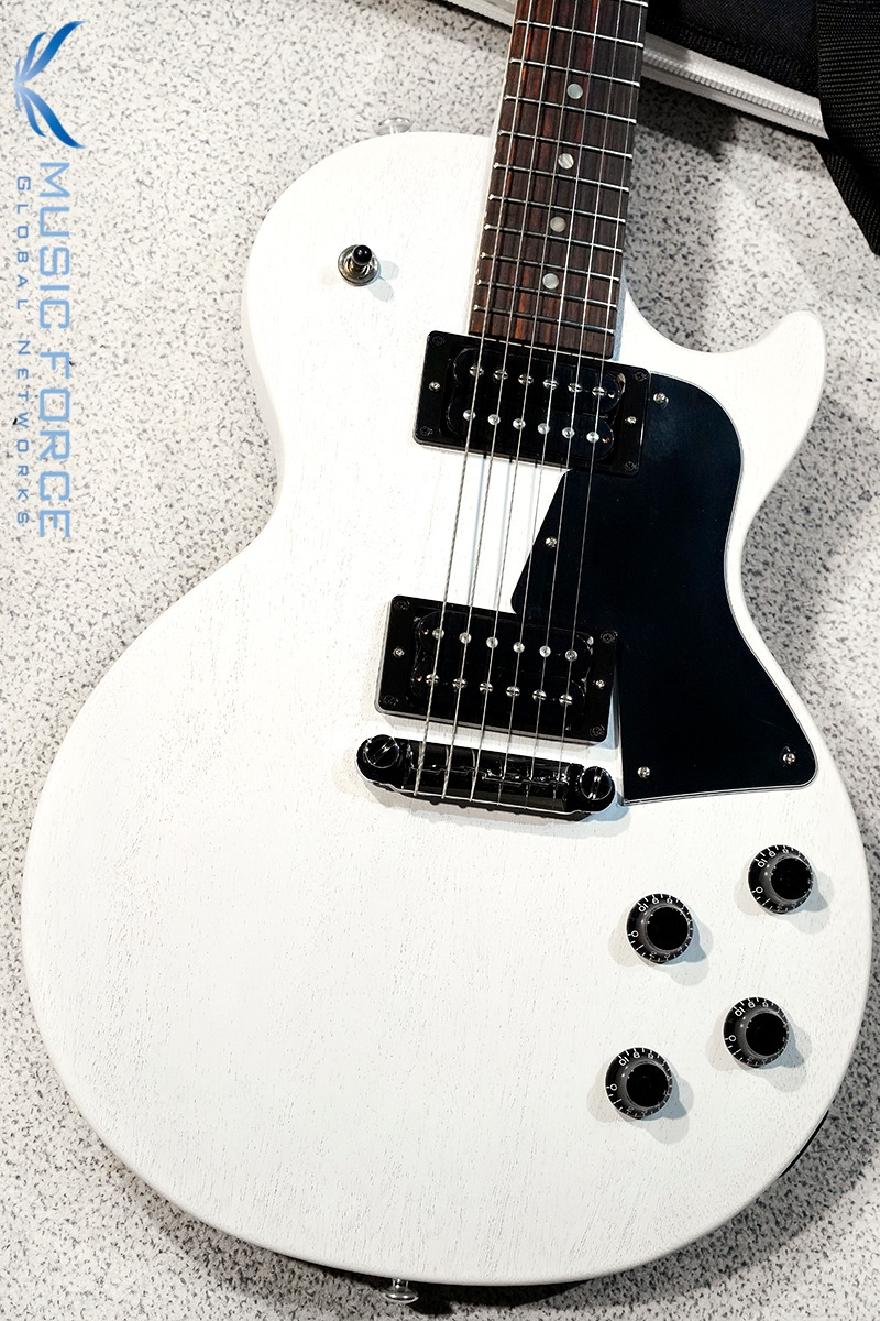 Gibson USA Les Paul Special Tribute Humbucker-Worn White Satin(신품) - 202100234