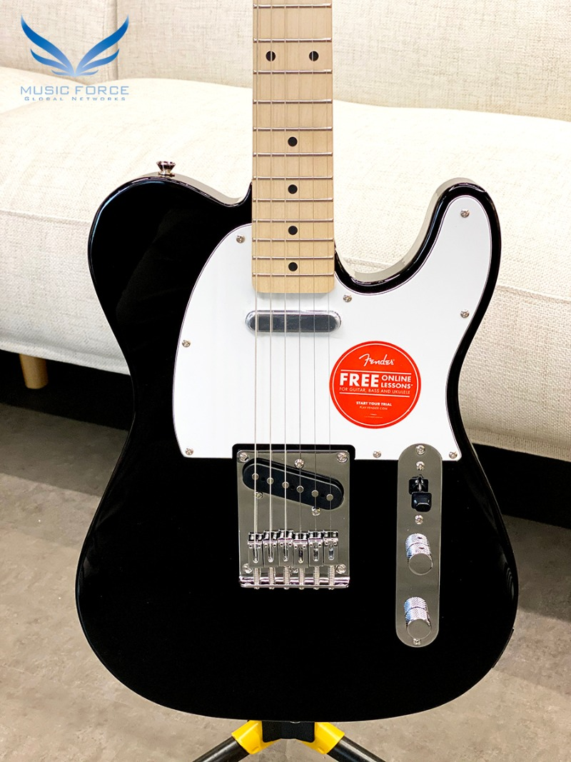 [특별세일] Squier Affinity Telecaster-Black w/Maple FB (2019년산/신품)
