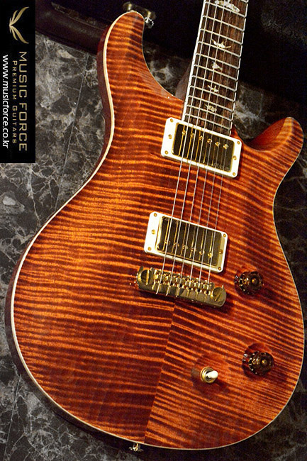 [2018 Final Sale(~12/31까지)!!!] PRS Mccarty Artist Package(Flame)-Burnt Orange w/East Indian Rosewood Neck & Brazilian Rosewood(CITES-Certified) FB(2016년산/신품)