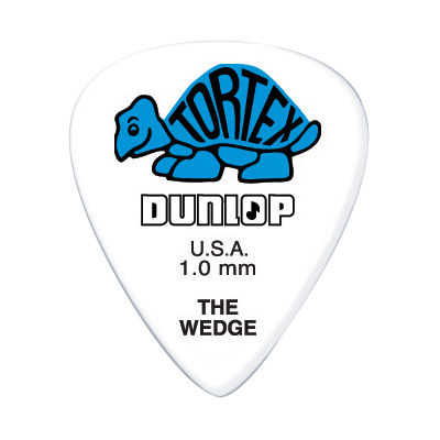 DUNLOP TORTEX Wedge (424R) 1.0mm