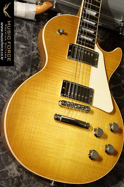 [2018 Final Sale(~12/31까지)!!!] Gibson USA 2017 Model Les Paul Traditional HP-Honey Burst(2017년산/신품)