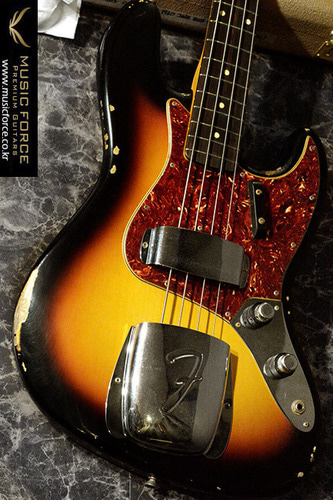 Fender Custom Shop 1960 Jazz Bass Relic-3 Tone Sunburst(2016년산/신품)
