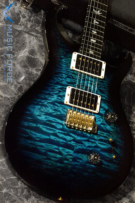 PRS Custom 24 QMT-Custom Color Royal Blue Smokeburst w/10top Option & Hybrid HW(2017년산/신품)