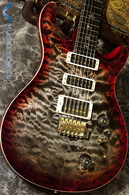 PRS Wood Library Studio Limited-Charcoal Cherry Burst w/10 Top Quilt, East Indian Rosewood FB & Hybrid HW(2017년산/신품)