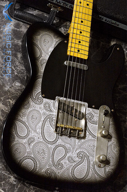 LSL T-Bone Black Paisley on Vintage Cream w/Flame Maple Neck(2017년산/신품)