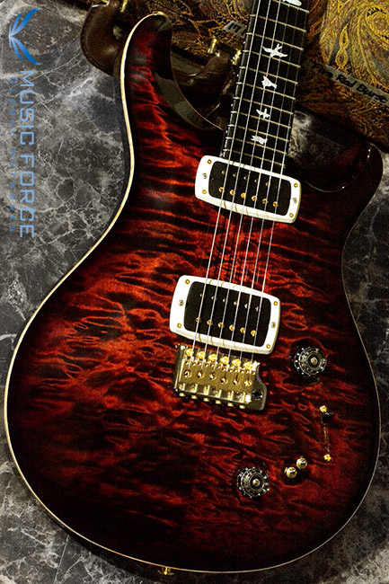 PRS Wood Library 408 Limited-Fire Red Burst w/10 Top Quilt, Gaboon Ebony FB & Hybrid HW(2017년산/신품)