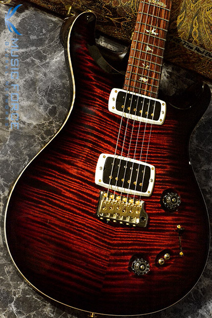 PRS Wood Library 408 Limited-Fire Red Burst w/10 Top Flame, Honduran Rosewood FB & Hybrid HW(2017년산/신품)