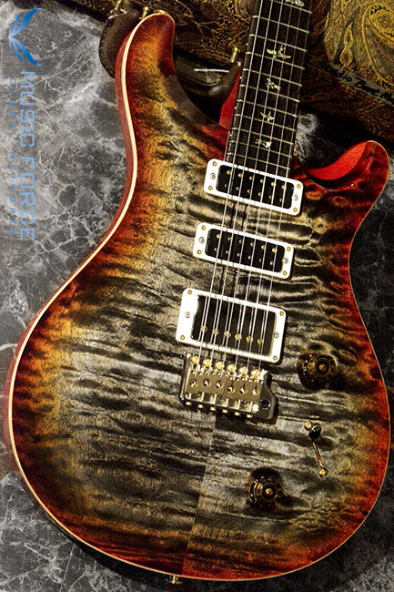 PRS Wood Library Studio Limited-Burnt Maple Leaf w/10 Top Quilt, East Indian Rosewood FB & Hybrid HW(2017년산/신품)