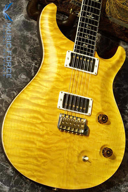 PRS Wood Library Mccarty Trem Limited-Faded Yellow Satin w/Arist Grade Quilt Maple Top, African Blackwood FB & Hybrid HW(2017년산/신품)