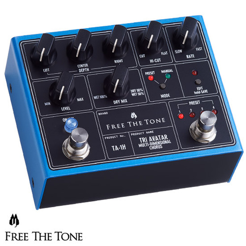 [Free The Tone] TRI AVATAR Multi-Dimensional Chorus TA-1H