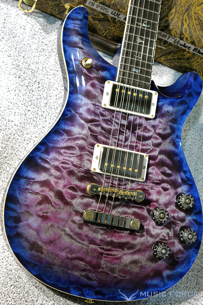PRS Wood Library Mccarty 594 Limited-Violet Blue Burst w/Quilt Maple 10 Top, Ebony FB & Hybrid HW(2018년산/신품)