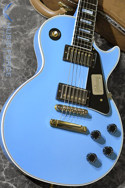 [창사11주년기념세일] Gibson Custom Les Paul Custom-Renault Blue w/Gold HW(2016년산/신품)
