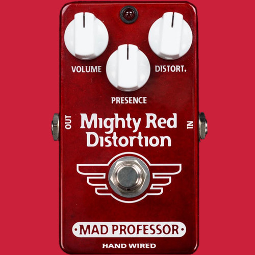 Mad Professor Mighty Red Distortion(Handwired Custom 버전)
