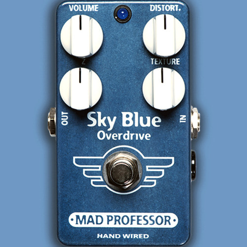 Mad Professor Sky Blue Overdrive(Handwired Custom 버전)