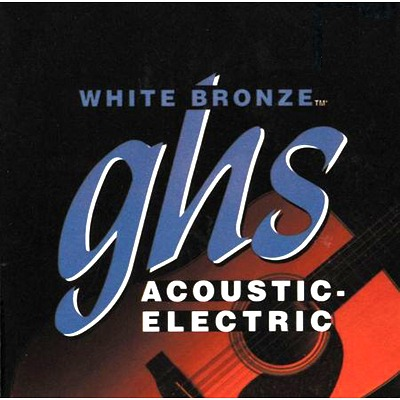 GHS Acoustic White Bronze
