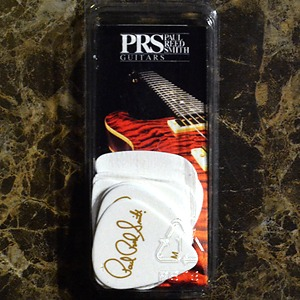 PRS Solid White Pick 12 Package
